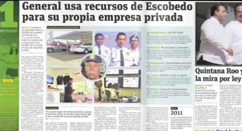 Conoce el fraude realizado desde la policía de Escobedo